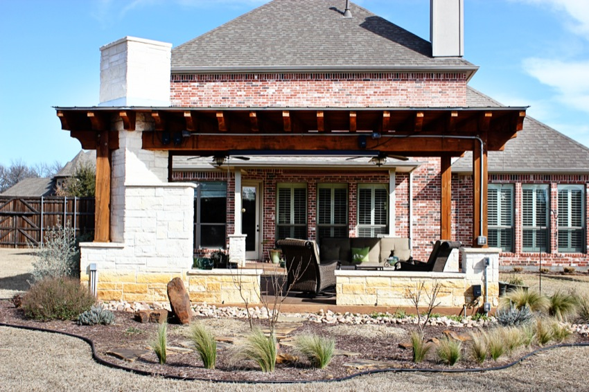 Covered Outdoor Living Area - Denton, Texas on Covered Outdoor Living Area id=21830
