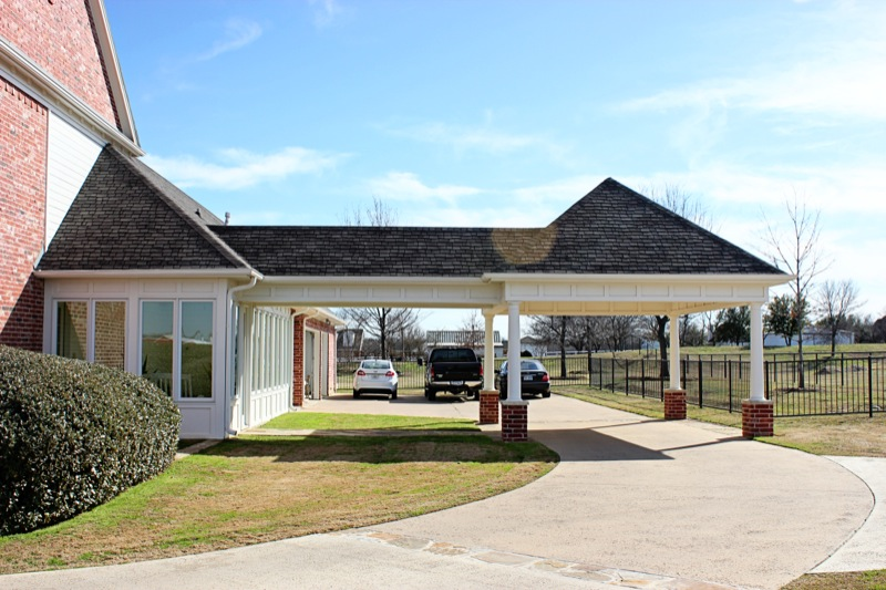Covered Living Area Amp Carport Extension Denton County