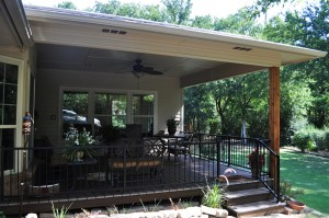 Covered Patio & Sunroom Addition – Denton, Texas