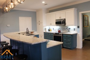 Kitchen & Bathroom Remodel, Mudroom & Outdoor Living Area Addition – Aubrey, Texas