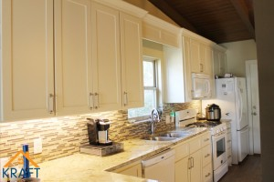 Complete Kitchen & Bathroom Remodel, Deck Addition – Oak Point, Texas