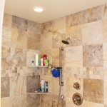 oak point master bath shower