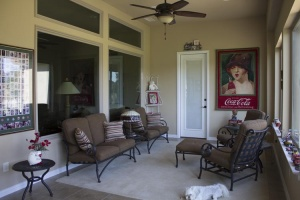 Texas Sweet Tea on a Sunday Afternoon — Matching Enclosed Porch Addition at Robson Ranch Texas Resort Community